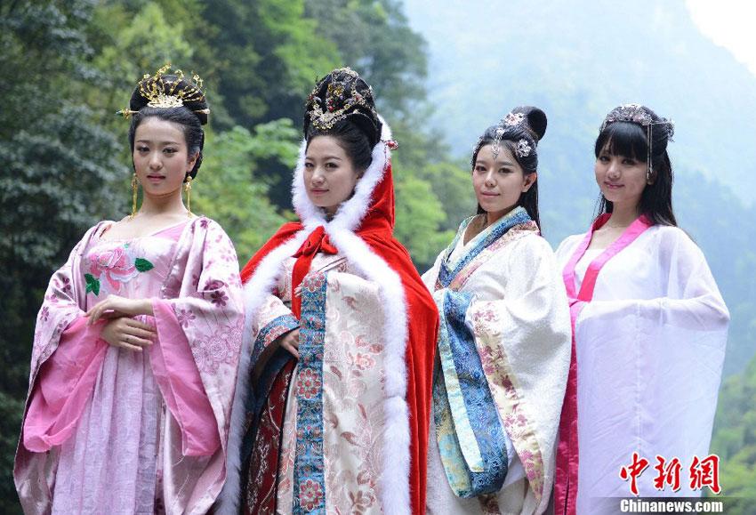 王昭君第78代后裔出演 四大美女 静态电影