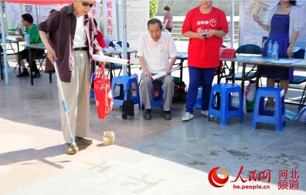 河北举办 禁烟控烟 机关先行 公益宣传活动