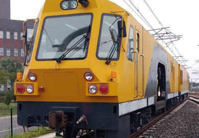 我国首台地铁钢轨