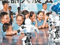 邯郸:机器人展览让孩子们与科技零距离