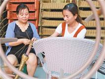 邯郸市南牛叫村:鼓励手工加工业 编织美好生活