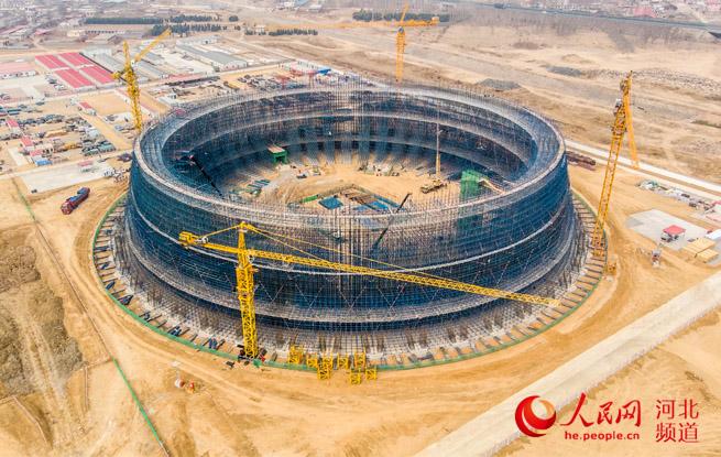 秦皇岛开发区2×35万千瓦热电联产项目工程启动