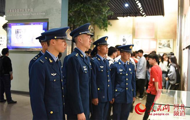 华北军区烈士陵园举办公祭革命烈士大会