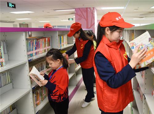 """邯郸:""""图书小管家""""图书志愿服务活动开展"""
