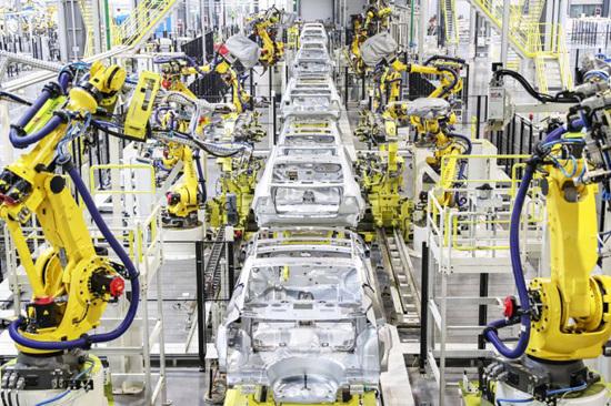 国能93车型整车量产下线恒大造车迈进坚固一步
