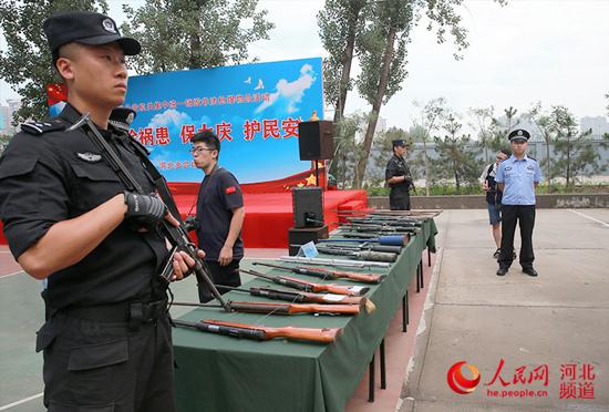 四川公安集中統一_奶粉销毁_銷毀3千余支非法槍支