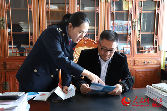 围场满族蒙古族自治县税务局合力攻坚永向前