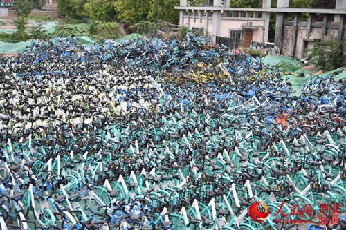 日清单车1000辆 石家庄市裕华区探路共享单车治理