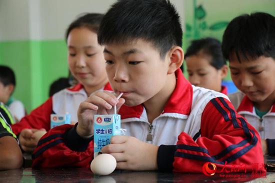 河北邯郸:50万农村娃吃上免费营养餐