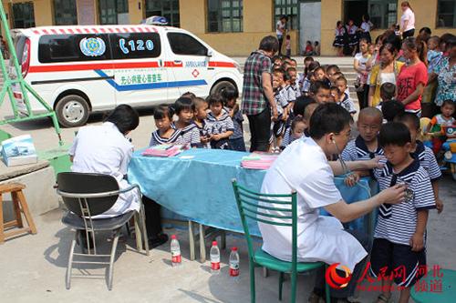 河北医大一院将对承德6县儿童进行心脏健康普查