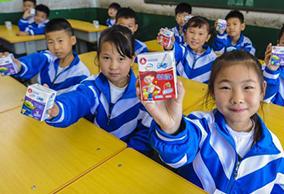 """霸州:6万农村小学生吃上""""暖心课间餐"""""""