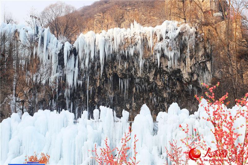 昼观冰瀑夜赏冰灯 2019平山沕沕水冰瀑节开幕【3】