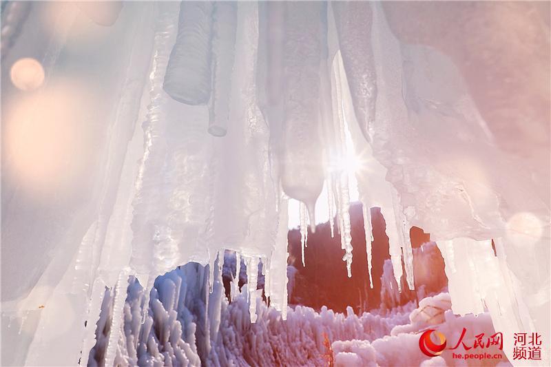 昼观冰瀑夜赏冰灯 2019平山沕沕水冰瀑节开幕【8】
