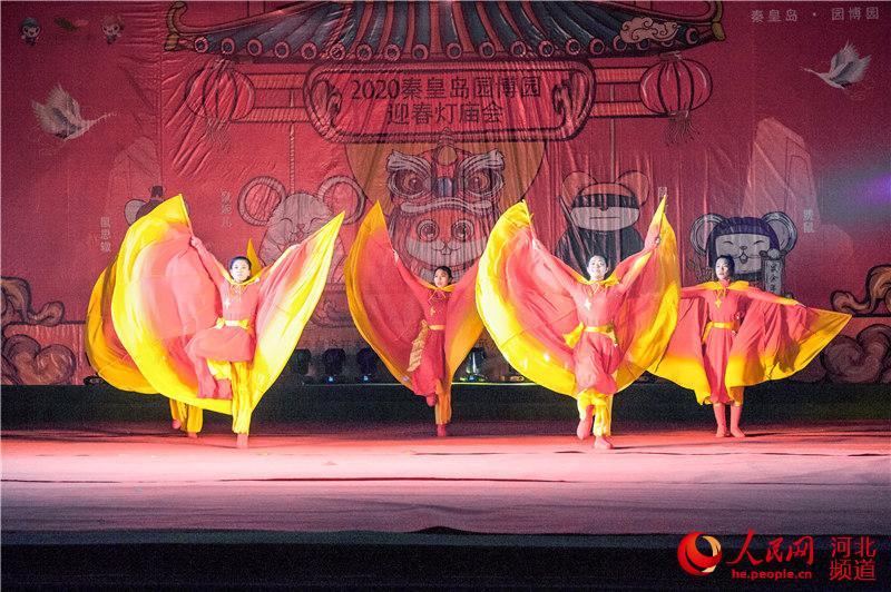 过年了!到秦皇岛园博园赏花灯、逛庙会啦