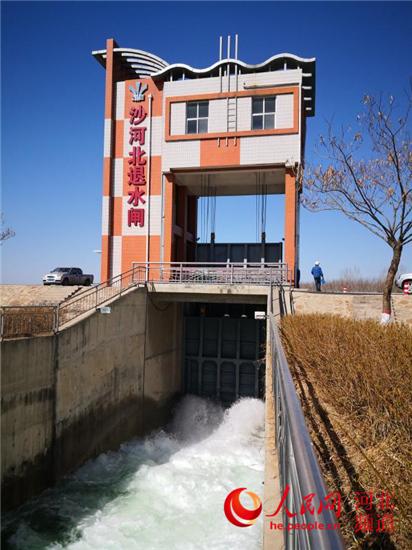 3月份河北省各河引江水2.5亿立方