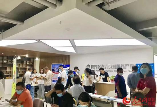 邯郸市复兴区举办全市线下招聘会