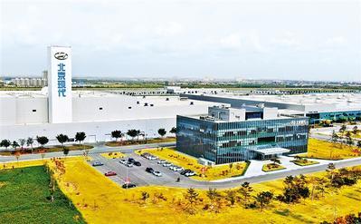 北京现代沧州工厂:催生千亿元产业集群